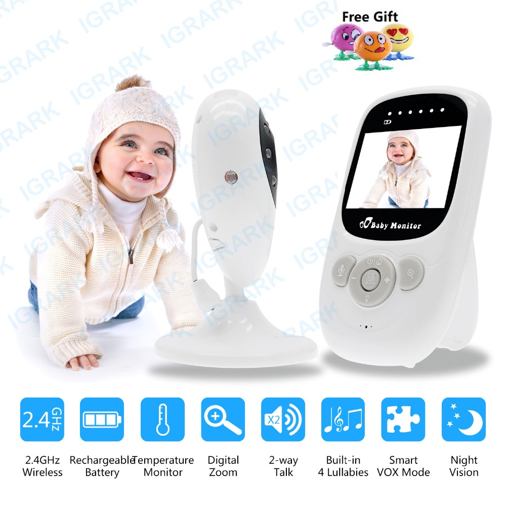 2.4 inch Wireless Video Baby Monitor Security Camera Night Vision Two-Way Talk LCD Display Temperature Monitoring Baby Monitors 2.4 inch Wireless Video Baby Monitor Security Camera Night Vision Two-Way Talk LCD Display Temperature Monitoring Baby Monitors