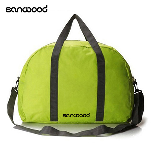 Unisex Durable Foldable Nylon Duffle Bag Travel Luggage Tote Bag Shoulder Bag