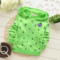 BC Retail New 2015 Children Hoodies Casual Boys' Sweatshirt Zipper Kids Fall Clothes Babies Outerwear Clothes