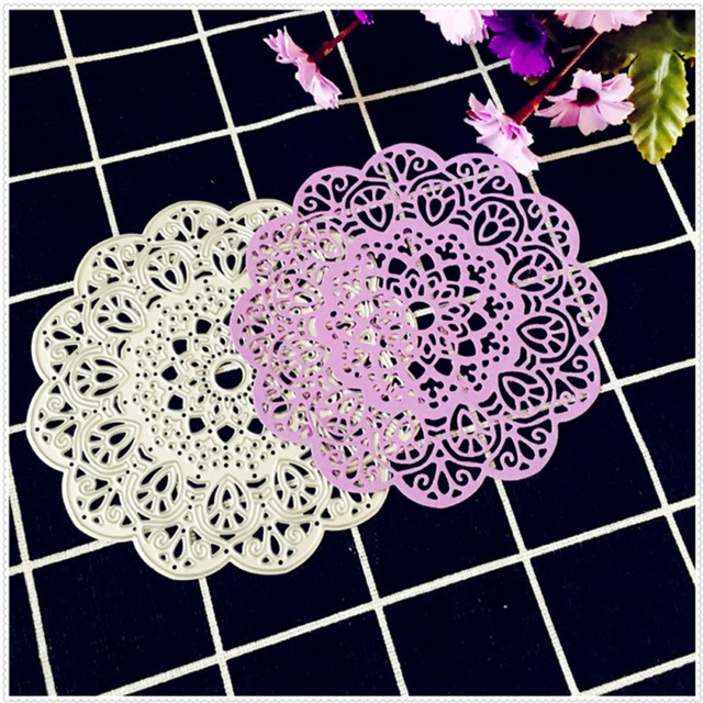 Rould Flower Lace Cutting Dies Metal Cutting Dies Scrapbooking Dies