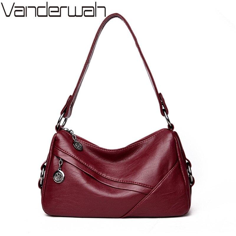 leather women luxury handbags women famous brands female tote bag high quality shoulder bag women casual top-handle bags SAC