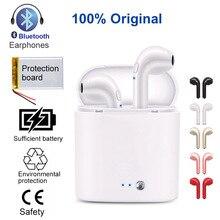 Bluetooth Erphone Waterproof Headset Headphones True Wireless i7s mini TWS Earbuds Earpiece With Charging Box Mic