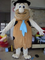 High Quality Soft Brown Savage Plush Adult Party Christmas Mascot Costume