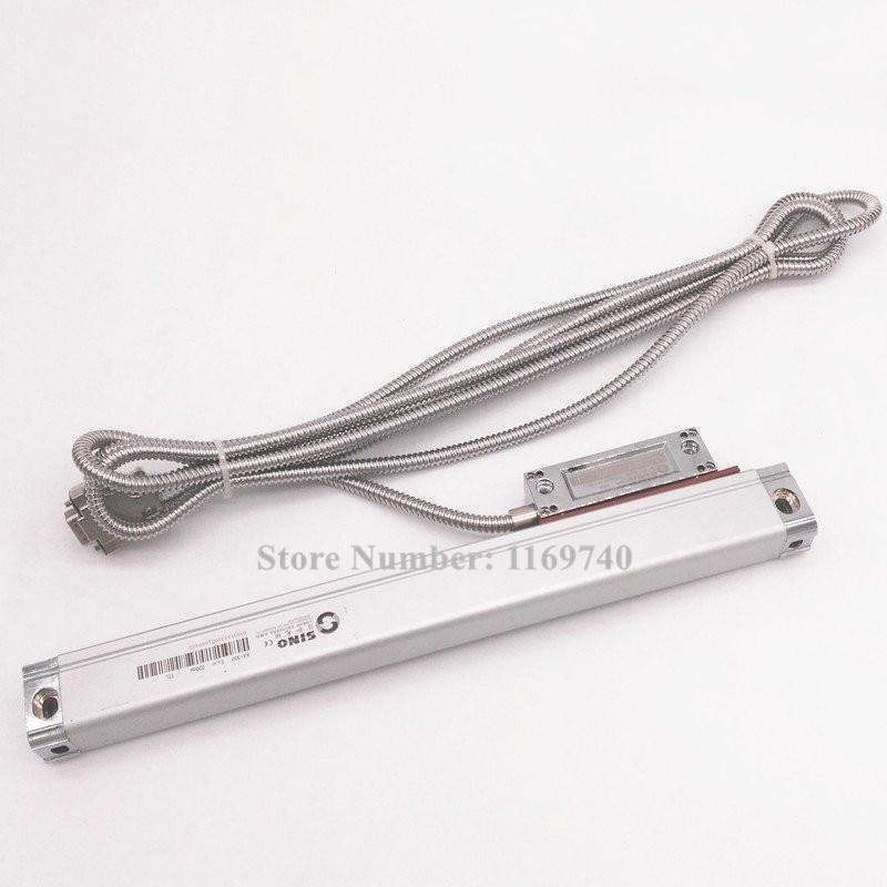 KA300 320mm 370mm 420mm 470mm 520mm SINO Linear Glass Scale/ Linear Encoder optical linear sensor ruler for mill lathe machine цена