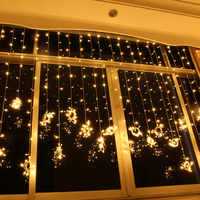 Holiday lights Christmas wedding background waterproof curtain outdoor lights led string lights 10M*2M