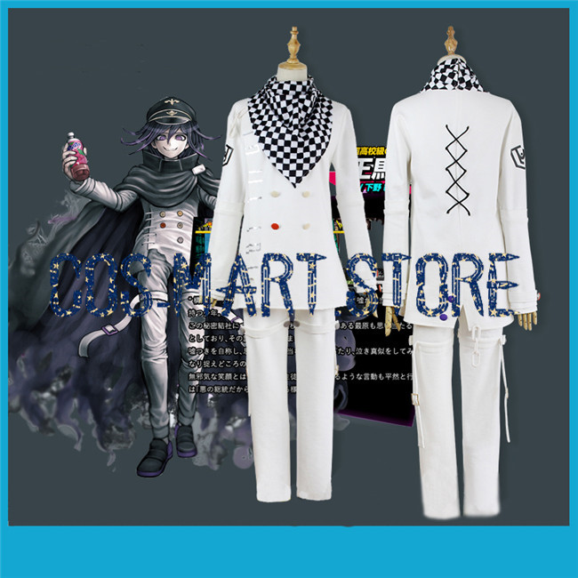 Danganronpa v3 Korekiyo Shinguji Cosplay Costume School Uniform Custom Made