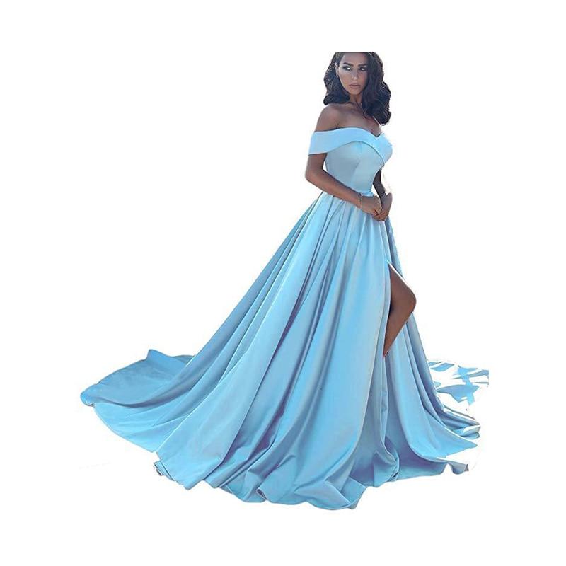 f0b8ce6330 Skup Tanie Ryby ogon seksowne długie suknie dekolt w kształcie litery v  Backless sukienki na przyjęcie bez rękawów Sweep pociąg tanie tiul sukienka  na ...