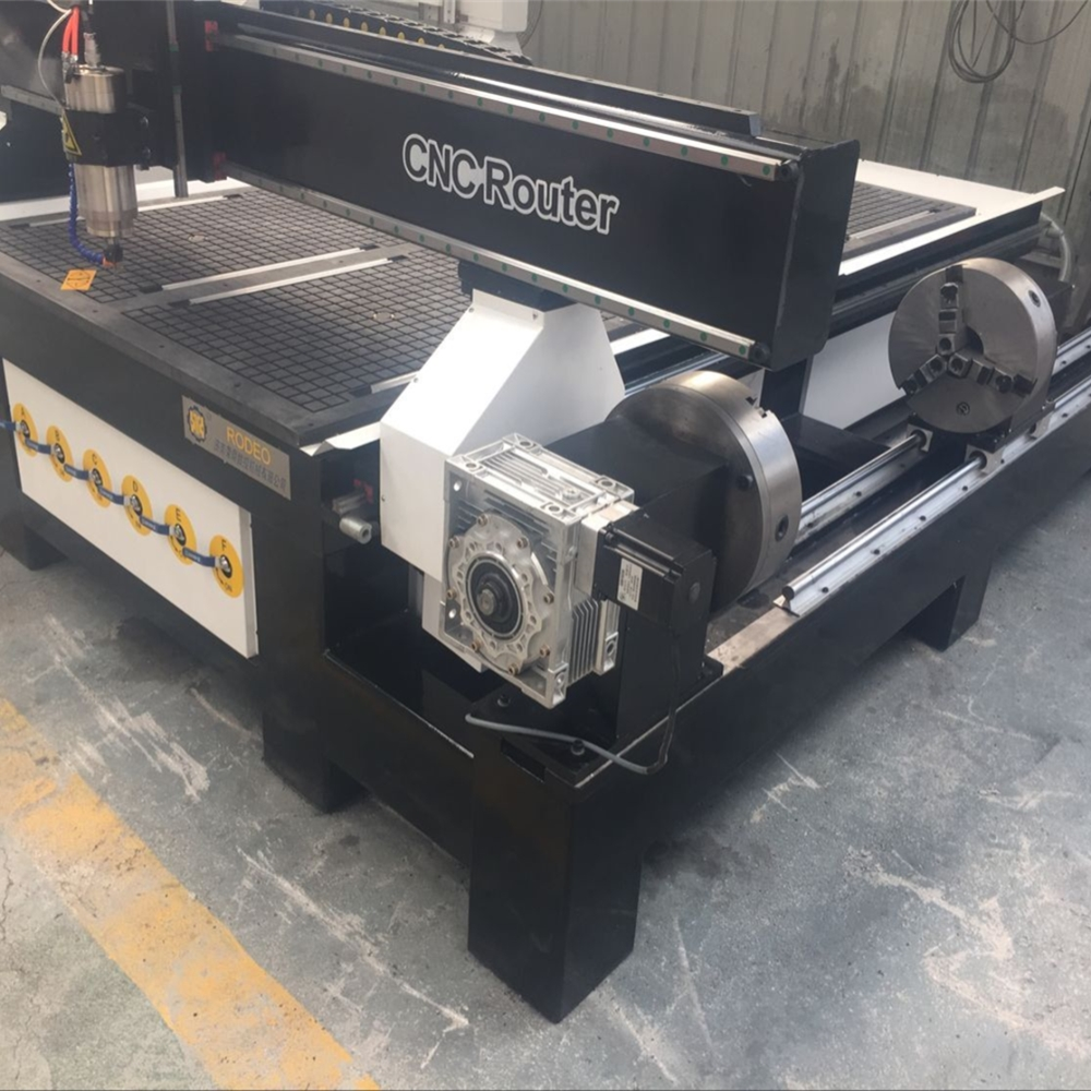 Cheap 4 Axis Cnc Machine Price With Mach3/1325 China Wood Milling Cnc Router For MDF Cutting Engraving Cnc Rotary Lathe Machine