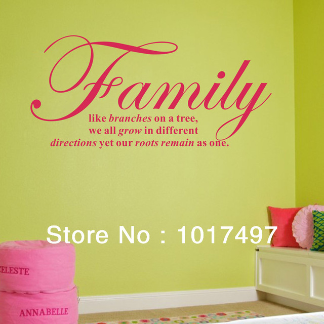 free shipping ebay/Amazon hot Family like branches on a tree wall ...