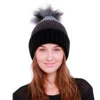 ChamsGend 2017 Hot Sale Women Warm Crochet Winter Wool Knit Ski Beanie Skull Caps Hat Hairy