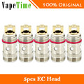 Original 5 unids ec eleaf atomizador coil 0.5ohm tc-ti y ni 0.15ohm cabeza para iJust 2/melo/melo 2/melo 3/melo 3 Mini/lemo 3 Tanque e-cig