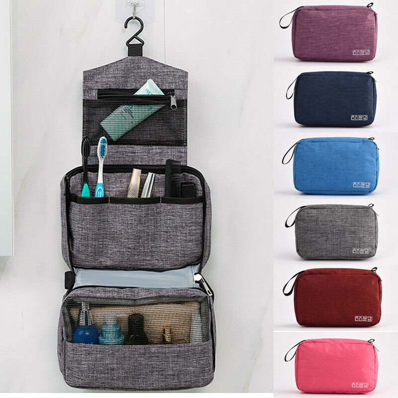 2019 Convenient Travel Makeup Cosmetic Bag Toiletry Wash Case Organizer Storage Hanging Pouch Waterproof Foldable Travel Bags