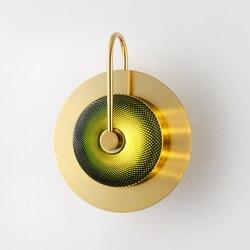 W nowym stylu Led kinkiet wykwintne artystyczny Design przyłóżkowy salon nawy willa specjalne naścienne kinkiety izrael dekoracje ścienne darmowa wysyłka