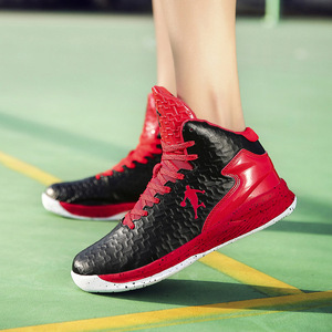 Image 4 - Man High top Basketball Shoes Mens Air Cushion Light Basketball Sneakers Anti skid Breathable Outdoor Sports Basketball Shoes