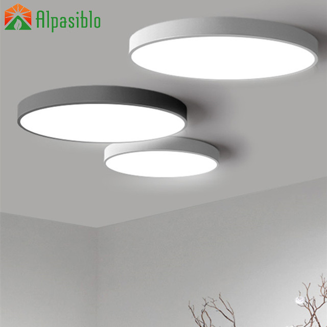 Us 15 12 10 Off Modern Led Ceiling Light Bedroom Lightting Lamps Living Makeup Room Lamp Fixtures Luminaire Lights In