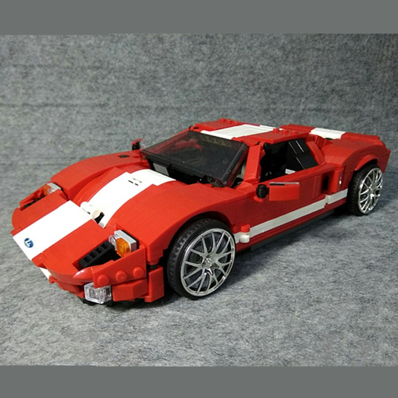 NEW Technic Ford GT 40 Creator Speed Champions Mustangs Building Blocks Bricks Car Model Kids Toys