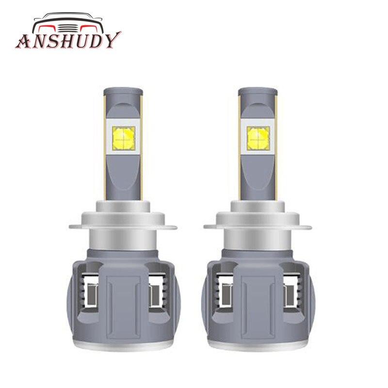 XHP70 15600lm H4 H7 светодио дный H11 лампы для автомобилей Противотуманные фары H1 9005/HB3 9006/HB4 H9/H8 120 W 6000 K 9012 H13 авто фары 12 V