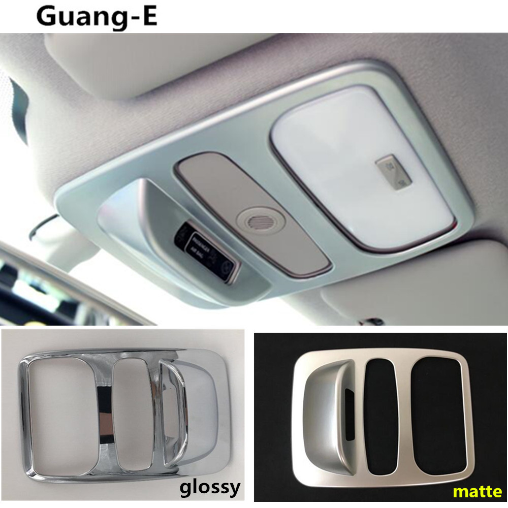 Car styling cover stick ABS chrome head read front reading light lamp trim hoods 1pcs For Renault Captur 2015 2016 2017 for toyota corolla altis 2014 2015 2016 car body styling cover detector abs chrome trim front up grid grill grille hoods 1pcs