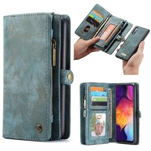 Image 3 - Étui portefeuille en cuir magnétique multifonction Vintage de luxe pour Samsung A21s A71 A51 A20E A80 A70 A50 A40 A20 A30