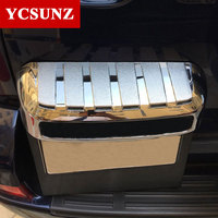 Auto Decorate Parts Hot Auto Exterior Accessories License Plate ABS Chrome Car Rear License Frame For