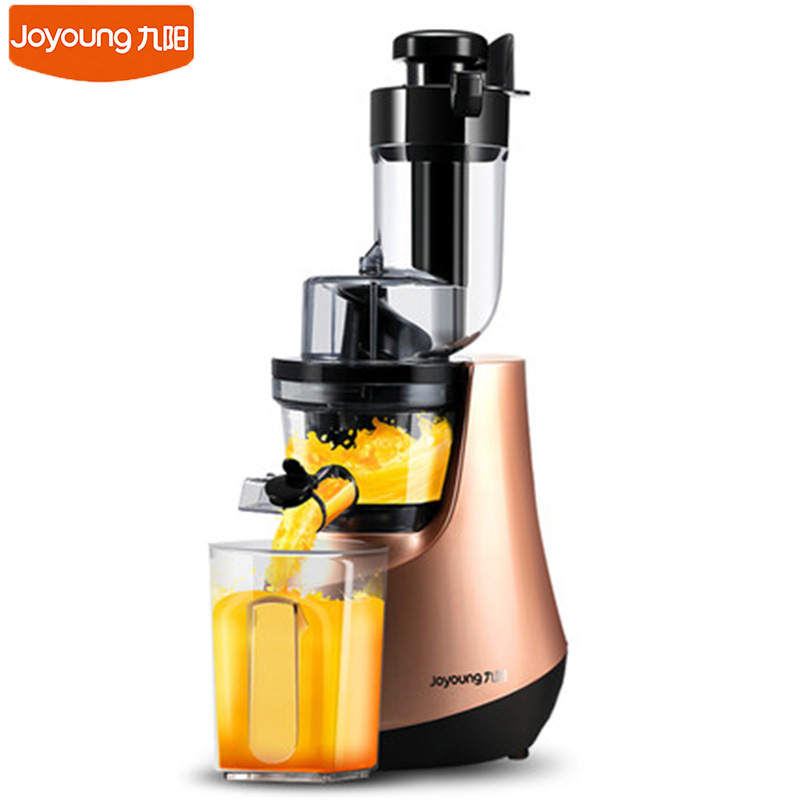New Joyoung Household Juicer JYZ-V906 Large Caliber Slow Juice Maker Safety Material Fruit Vegetables Juice Extractor Machine