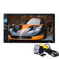 Universal 2Din autoradio 2 Din Car Video Player Touch Screen Panel Car Audio Player 7010B Support FM/MP5/USB/AUX/Bluetooth