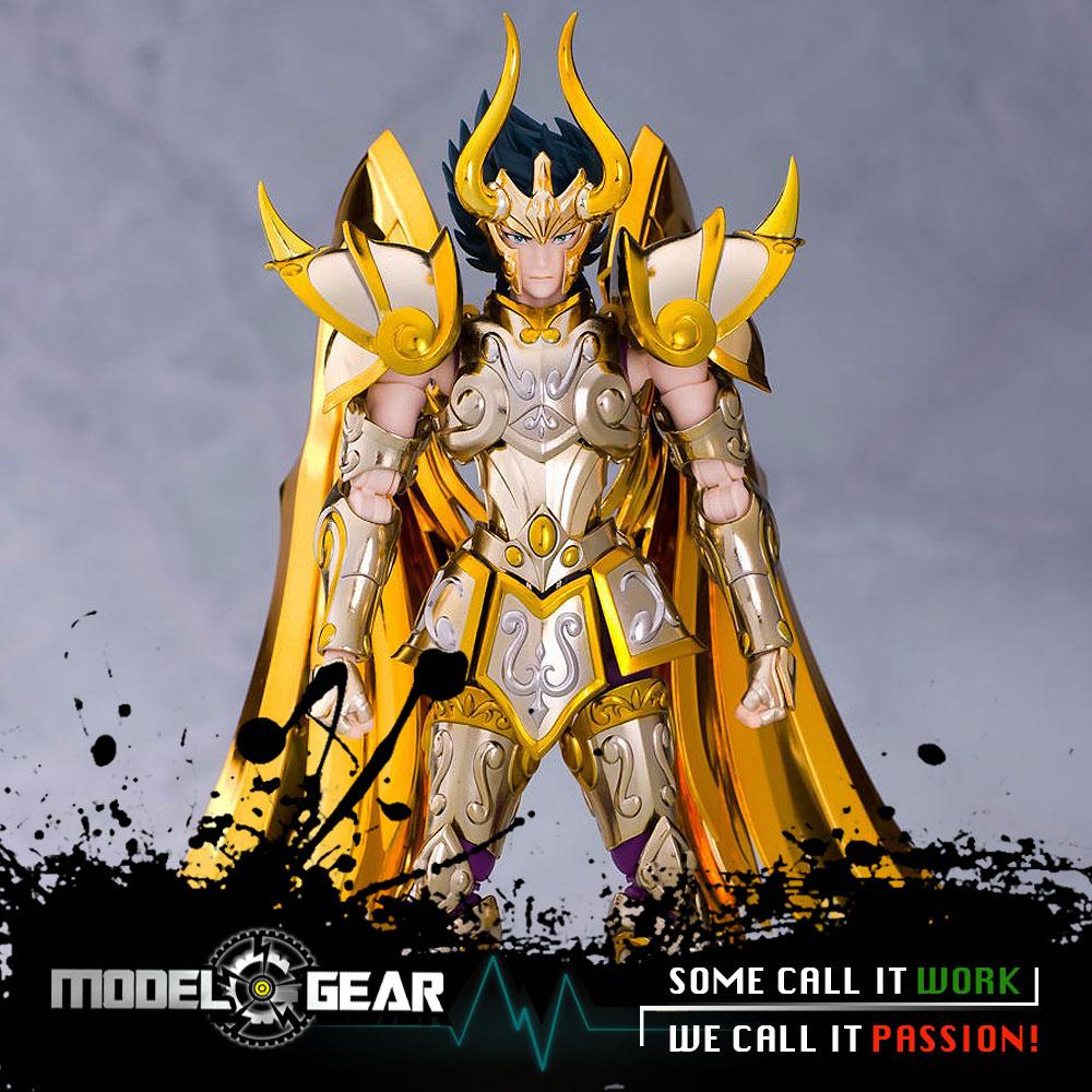 ==In-Stock==Metal Club Metalclub SAIRE MC Saint Seiya Ex Myth Cloth Metal Gold Capricorn Shura SOG Figure Model Kit Toys Model