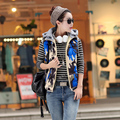 2017 New Arrival Hot sale top female Casual Down Cotton Jacket Ladies slim all-match Fashion Warm Vest Outerwear Cheap wholesale