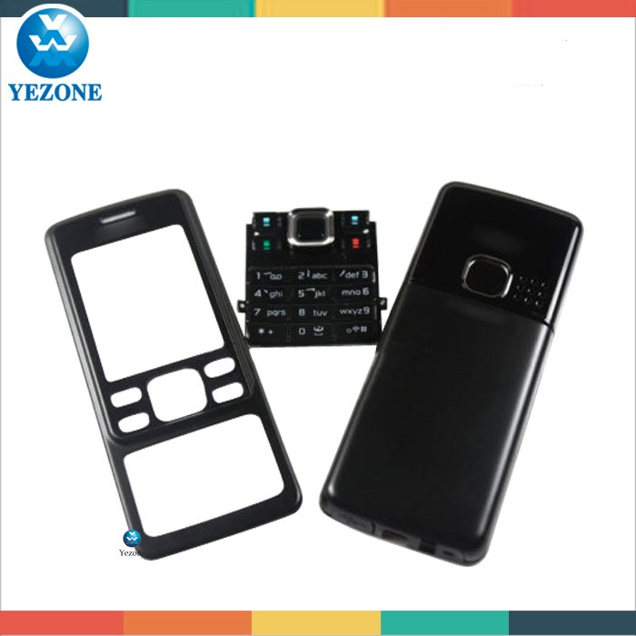 Nokia 6300 full housing black