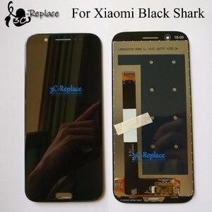 Image 1 - 2018 nouveau 5.99 pouces dorigine pour Xiaomi noir requin SKR A0 SKR H0 plein écran lcd + écran tactile numériseur assemblée remplacement