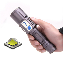 High quality USB light L2 ultra bright led flashlight USB special purpose for Port Military police Riding hunting camp