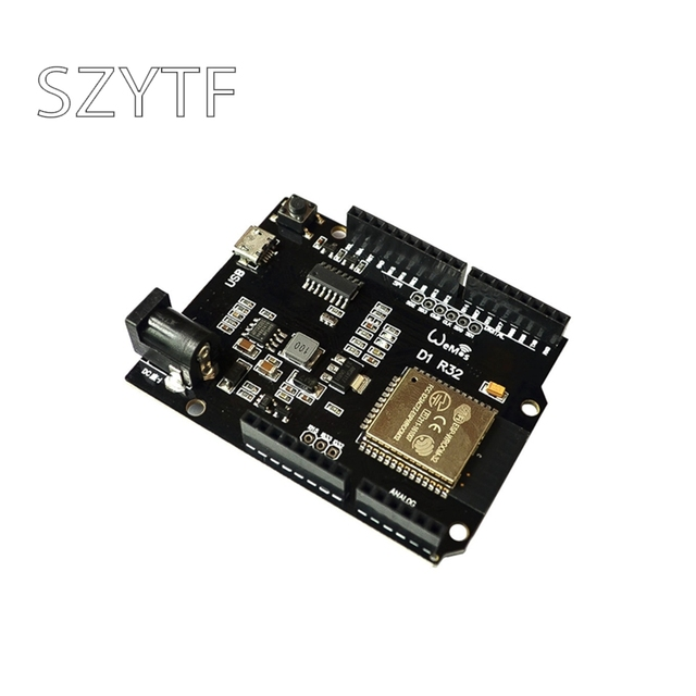 WiFiและบลูทูธESP32 4MB Flash D1 R32สำหรับUNO Arduino