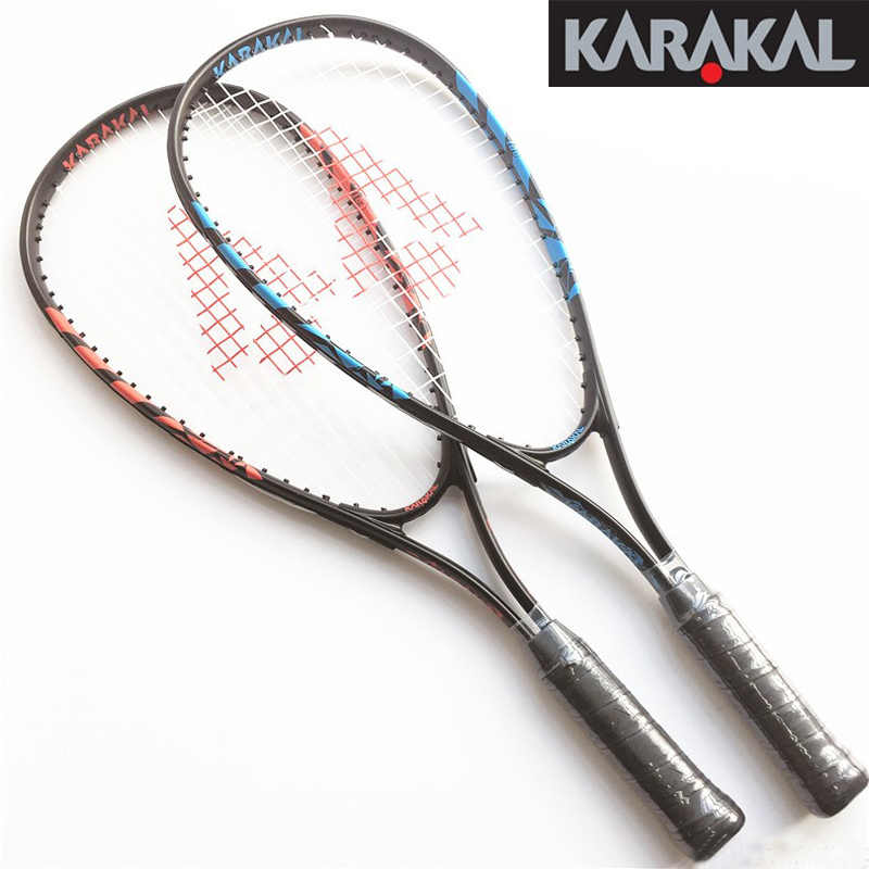 Official Karakal Carbon Squash Rackets For Beginners Squash Racquets With Grip Bag Racquet Sports Graphite Squash Racket Kids