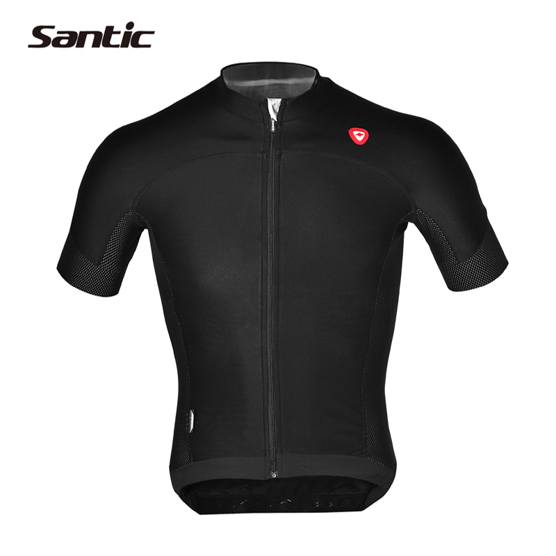 2017 Santic Cycling Jersey Short Sleeve Quick Dry Bicycle Clothing Tour De France Racing Bike Jersey Cycling Wear Asian Size 3XL pirate skull cycling clothing cycling wear cycling jersey short sleeve clothing