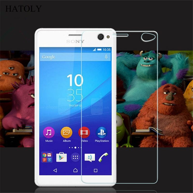 2PCS Tempered Glass For Sony Xperia C4 Dual Ultra-thin Screen Protector For Sony Xperia C4 5.5