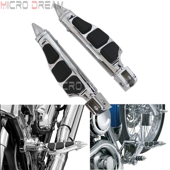 motorcycle wind screen deflector for suzuki boulevard m109 m109r m90 m50 m109r2 m109rz limited 2006 2016 pc windshield w clamps Motorcycle Stiletto Footpeg Footrest Chrome Foot Pegs for Suzuki Boulevard M109R M50 M90 Volusia 800 Honda GL1800 2001-2013