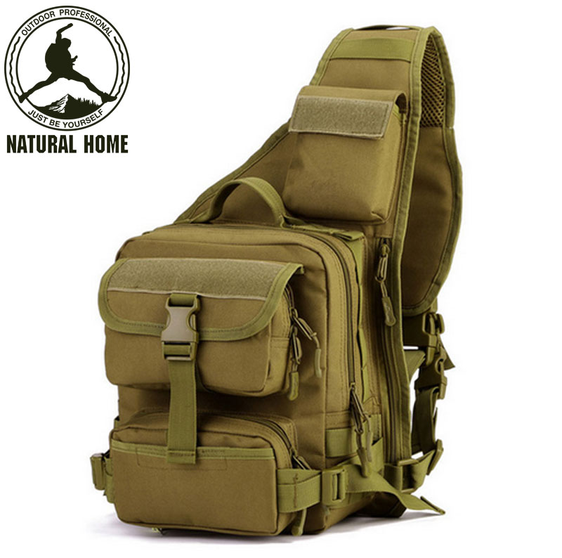 ФОТО NaturalHome Tactical Shoulder Bag Military Equipment Bags 2017 New Sports Waterproof Bag Packs for Men