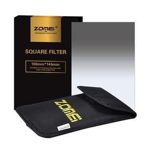 Image 2 - Квадратный фильтр Zomei 100 мм x 150 мм, градиентный Серый фильтр с нейтральной плотностью GND248 ND16 100 мм * 150 мм 100x150 мм для фильтра серии Cokin для Cokin
