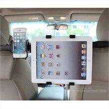 Universal New Adjustable Black Car Back Seat Headrest Mount Holder Stand Bracket Kit For Ipad Tablet Cellphone Iphone