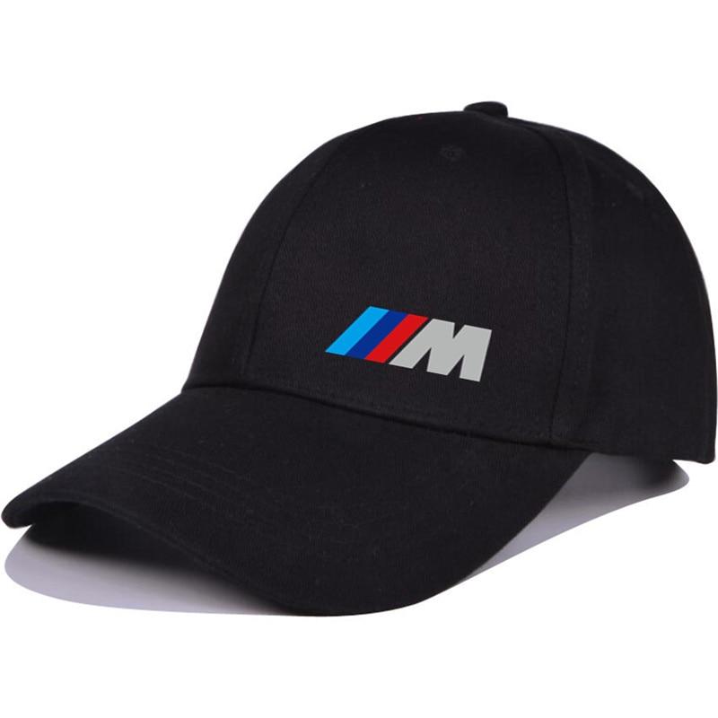 Men Fashion Cotton Car logo M performance   Baseball     Cap   hat for M3 M5 3 5 7 X1 X3 X4 X5 X6 330i Z4 GT 760li E30 E34 E36 E38