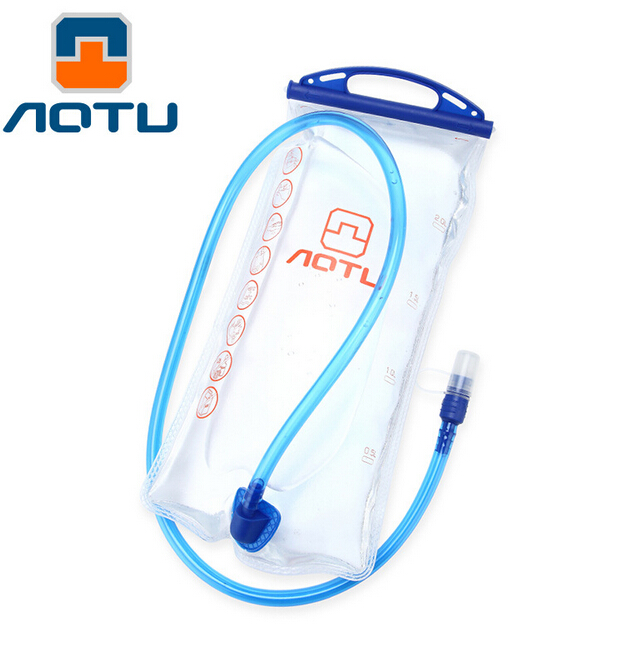 AOTU 2L TPU Bicycle Mouth Sports Water Bag Bladder Hydration Camping Hiking Climbing Water Bag