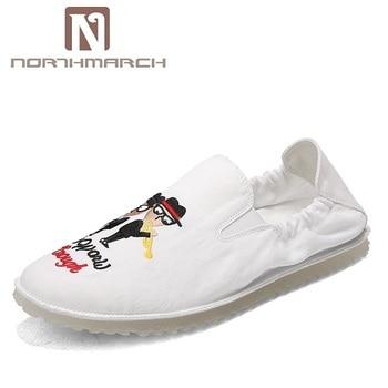 Verano Nueva Moda Hombres Zapatos Casual Lona Northmarch ERwqy4xtBB