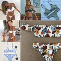2017 Swimwear Women Sexy Micro Bikinis Set Brazilian Bikini Thong Swimsuit Plavky Maillot De Bain Femme