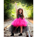 Baby Girls Halloween Tutu Dress Rock&Roll RockStar Cosplay For Theme Party Girls Ball Gown Dresses For Photo props T91