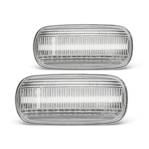 Image 5 - For Audi A6 C5 A4 B8 A3 8P S3 S4 S6 Car LED Dynamic Side Marker Turn Signal Light Indicator Blinker Repeater Car Fender Lights