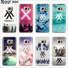 Monsta X KPOP Boy Group Phone cover Case For Samsung Galaxy S6 S7 Edge S8 S9 plus J2 J3 J5 J7 A3 A5 A7 2016 2017 A8 plus 2018(China)
