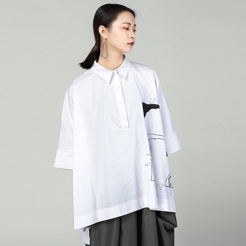 Giapponese Delle Lungo Kimono Stile Camicetta Camicia E Top Abbigliamento 2 Camicette Signore Di Donne Lunga 1 2018 Femminile Ta1003 vPBEwqBY