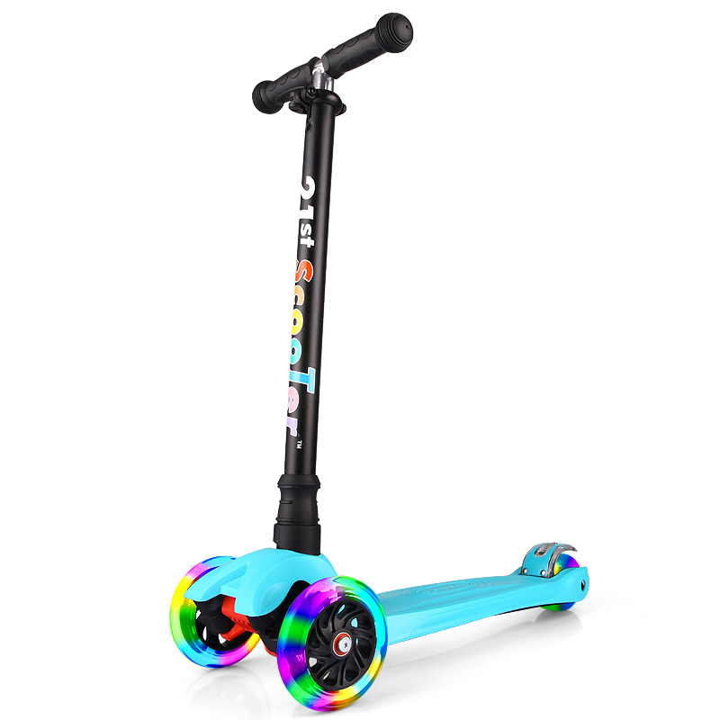 Bicicleta Infantil 21st Scooter Flash Wheel Children 3-12 Years Outdoor Toys Baby Tricycle Wheels Kid Bike Slide Ride On Toy child drift trike 4 wheels walker kids ride on toys for 1 3 years tricycle outdoor driver