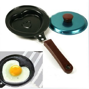 Cartoon creative love omelette pan Mini pancakes warm breakfast omelet pan