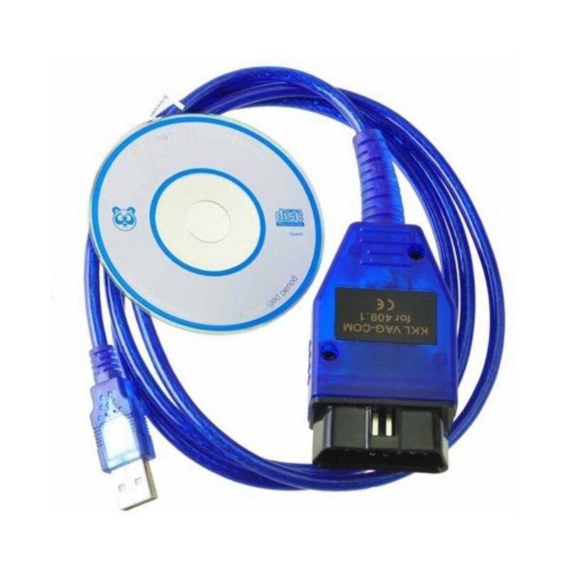 Prix pour Livraison gratuite VAG 409 USB COM, pour vag 409.1 usb kkl interface, pour vag409 usb câble RAPIDE